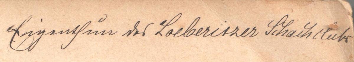 Inschrift Eigentumsvermerk